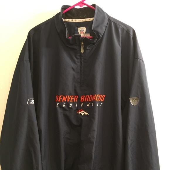 Reebok Other - Reebok NFL Denver Broncos 1/4 zip jacket